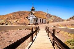 Iglesia en calicó Foto de archivo