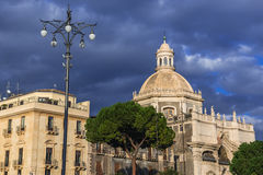 Iglesia en Catania Imagen de archivo