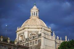 Iglesia en Catania Foto de archivo libre de regalías
