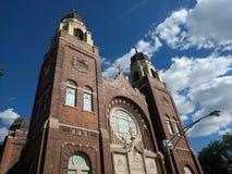 Iglesia en Chicago Fotos de archivo libres de regalías