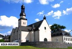 Iglesia en Colonia (Köln), Alemania foto de archivo