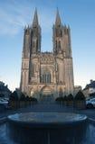 Iglesia en Coutances Francia Foto de archivo
