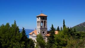 Iglesia en Croatia fotos de archivo libres de regalías