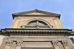 Iglesia en Cuneo, Italia fotografía de archivo