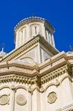 Iglesia en Curtea de Arges, Rumania Imágenes de archivo libres de regalías