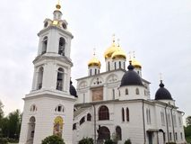 Iglesia en dmitrov Fotos de archivo libres de regalías