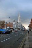 Iglesia en Dublín imágenes de archivo libres de regalías