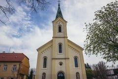 Iglesia en Dubnany foto de archivo