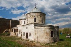 Iglesia en el castillo Foto de archivo libre de regalías