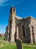 Iglesia en el cementerio Fotos de archivo