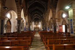 Iglesia en el irland de Weizhou Fotografía de archivo libre de regalías