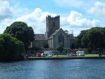Iglesia en el killaloe Irlanda Imagen de archivo