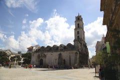 Iglesia en el La La Habana Imagen de archivo libre de regalías