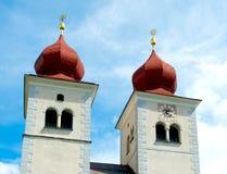Iglesia en el millstatt, Austria Imagen de archivo