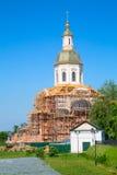 Iglesia en el monasterio de las mujeres de Diveevo Fotos de archivo libres de regalías