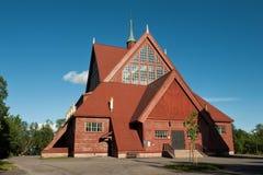 Iglesia en el movimiento Foto de archivo