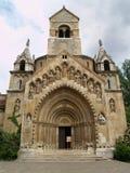 Iglesia en el parque de Budapest imagen de archivo libre de regalías
