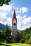 Iglesia en el Tirol Fotografía de archivo libre de regalías