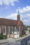 Iglesia en el Wroclaw Fotografía de archivo