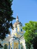 Iglesia en Estocolmo fotografía de archivo