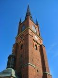 Iglesia en Estocolmo imagen de archivo