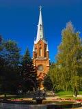 Iglesia en Finlandia Fotografía de archivo libre de regalías