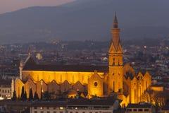 Iglesia en Florencia Imágenes de archivo libres de regalías
