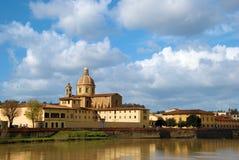 Iglesia en Florencia Foto de archivo