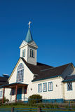 Iglesia en Frutillar Imagen de archivo