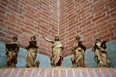 Iglesia en Gentofte Imagen de archivo libre de regalías