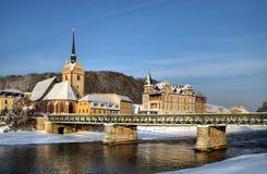 Iglesia en Gera Alemania Foto de archivo libre de regalías