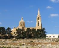 Iglesia en Gozo, islas maltesas imagen de archivo libre de regalías