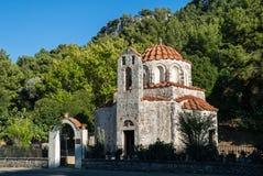 Iglesia en Grecia Imagen de archivo