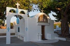 Iglesia en Grecia Foto de archivo