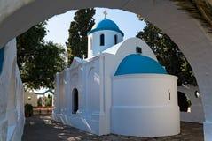 Iglesia en Grecia Fotografía de archivo