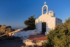 Iglesia en Grecia Fotografía de archivo libre de regalías