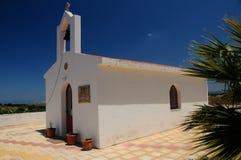 Iglesia en Grecia, Creta Imagen de archivo
