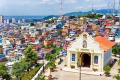 Iglesia en Guayaquil Fotografía de archivo libre de regalías