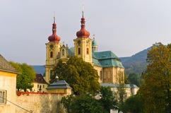 Iglesia en Hejnice, República Checa Fotos de archivo libres de regalías