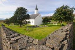 Iglesia en Holar, Islandia Foto de archivo libre de regalías