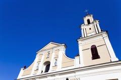 Iglesia en Hrodna Imágenes de archivo libres de regalías