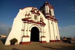 Iglesia en Huanchaco, Perú Foto de archivo libre de regalías