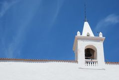 Iglesia en Ibiza Fotos de archivo libres de regalías