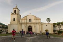 Iglesia en iloilo Imagen de archivo libre de regalías