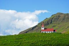 Iglesia en Islandia Foto de archivo libre de regalías