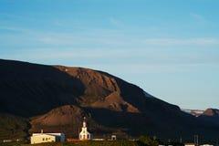 Iglesia en Islandia Imagen de archivo libre de regalías