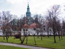 Iglesia en Jelenia Gora, Polonia Fotografía de archivo libre de regalías