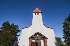 Iglesia en Karwia Fotos de archivo