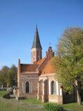 Iglesia en Kaunas Imagen de archivo libre de regalías