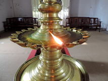 Iglesia en Kerala, la India imagenes de archivo